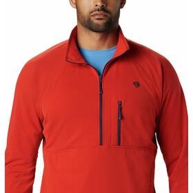 Mountain Hardwear Norse Peak Puolivetoketjullinen Pusero Miehet, desert red
